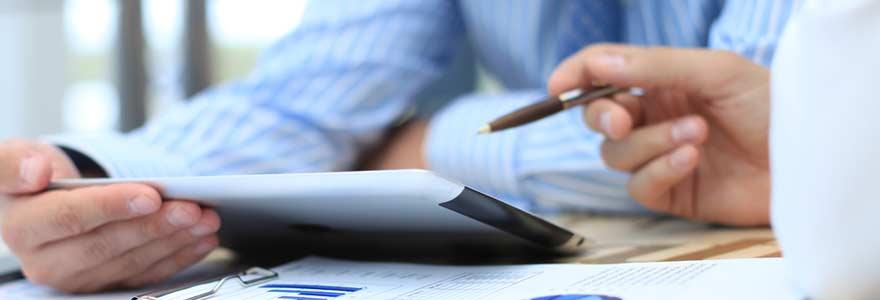 business plan financier